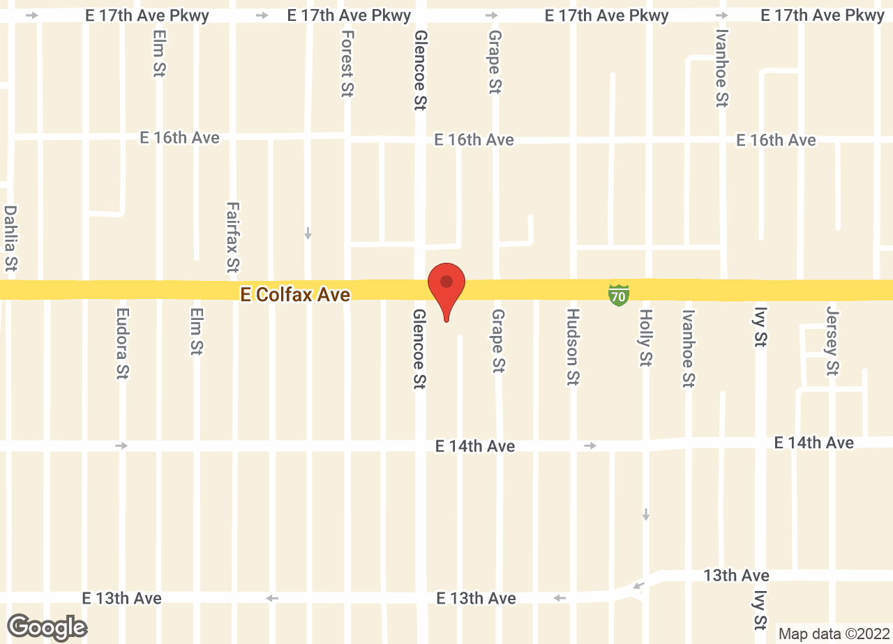 Google Map of VCA Park Hill Animal Hospital