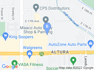 Map of Rocwind Canine Center Dog Boarding options in Aurora | Boarding