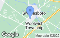 Map of Swedesboro, NJ