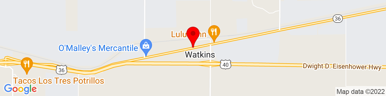 Google Map of 39.7435442, -104.6080353
