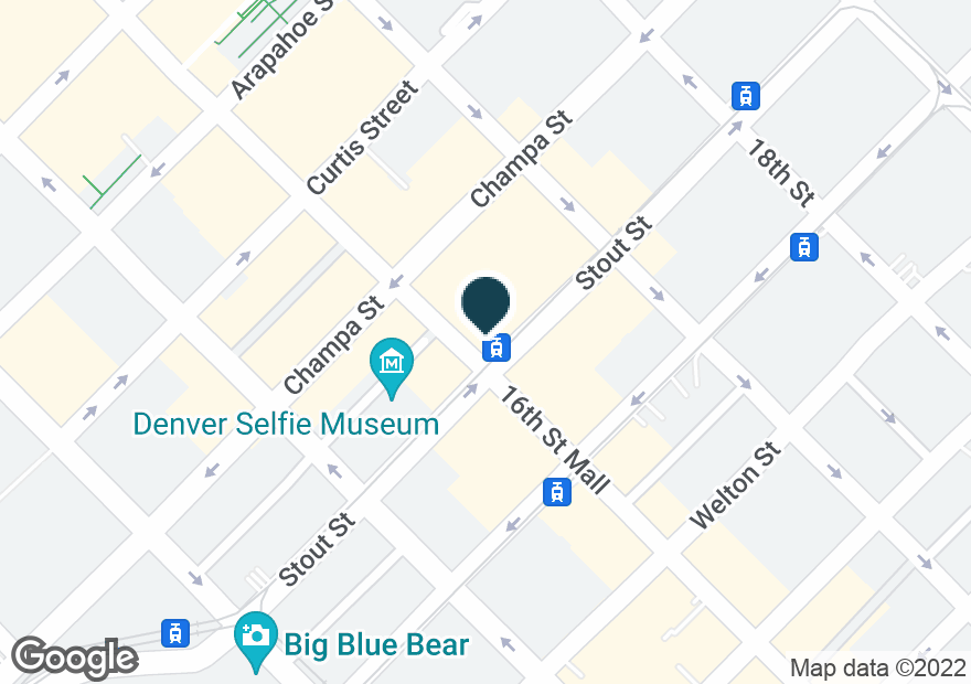 Google Map of801 16TH ST