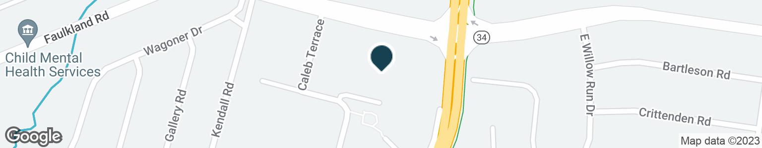 Google Map of1710 FAULKLAND RD