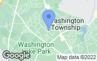 Map of Washington Township, NJ