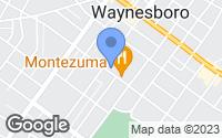 Map of Waynesboro, PA