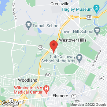 Map of BAYADA Assistive Care at 4250 Lancaster Pike, Wilmington, DE 19805