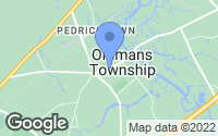 Map of Pedricktown, NJ