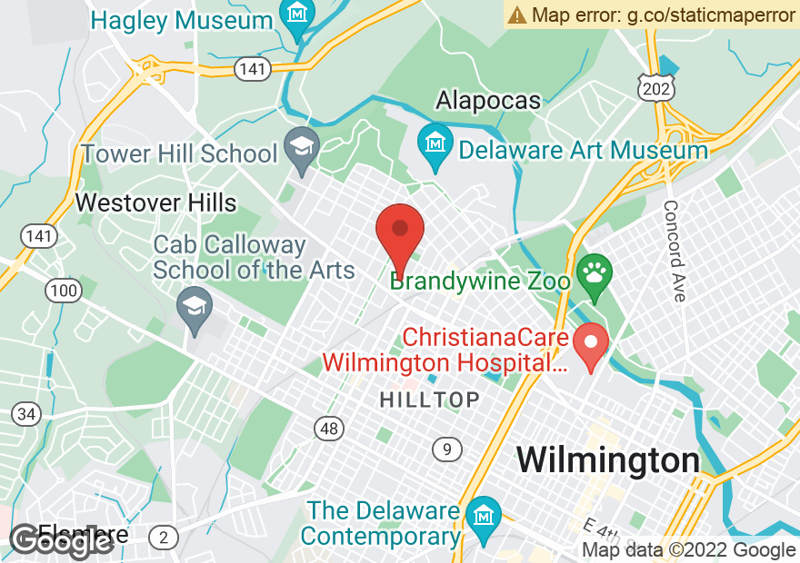 Google Map of 1313 N UNION ST