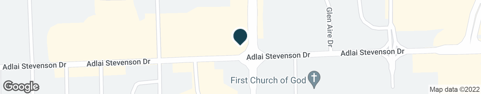 Google Map of2625 ADLAI STEVENSON DR