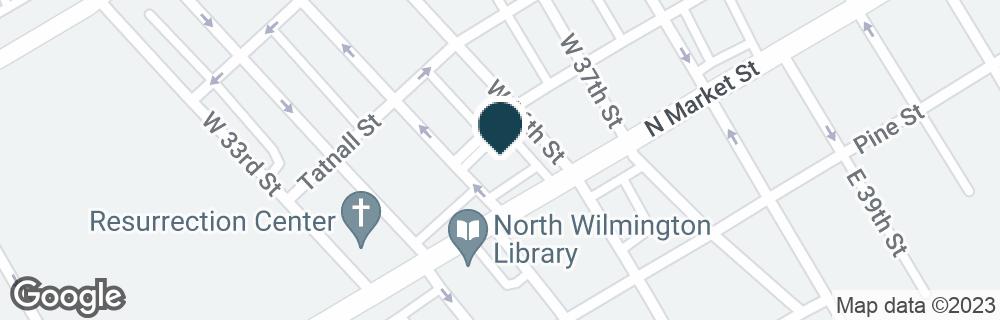 Google Map of3513 N MARKET ST