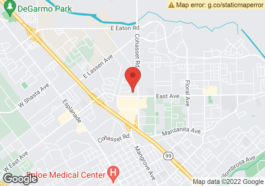 Google Map of 860 EAST AVE