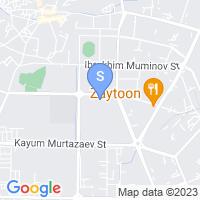 Расположение гостиницы Боодин на карте