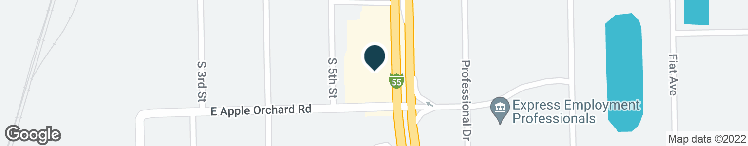 Google Map of2945 S 6TH ST