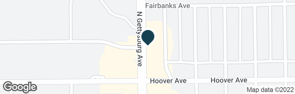 Google Map of4121 HOOVER AVE