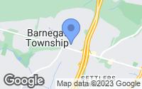 Map of Barnegat, NJ
