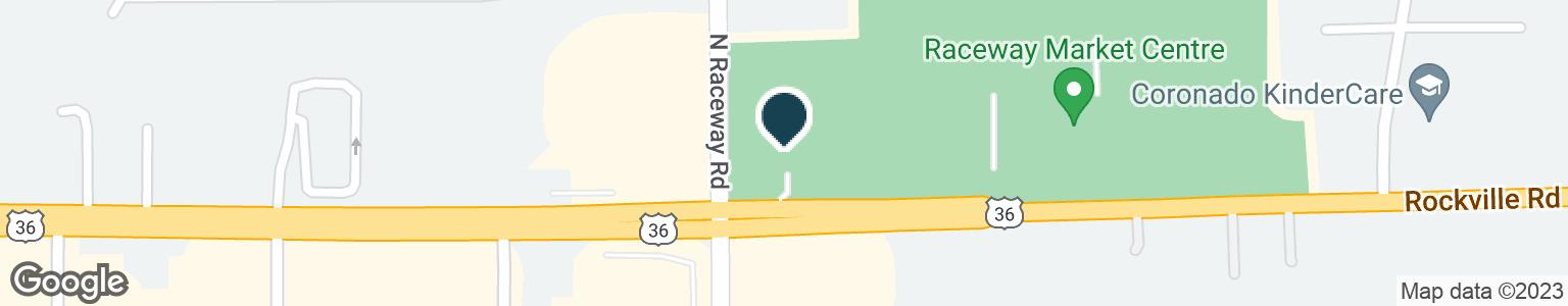Google Map of9240 ROCKVILLE RD