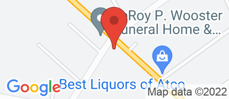 Branch Location Map - Wells Fargo Bank, Atco Waterford Branch, 451 White Horse Pike, Atco NJ