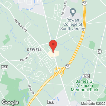 Map of Verizon Authorized Retailer – TCC at 660 Woodbury Glassboro Rd, Sewell, NJ 08080