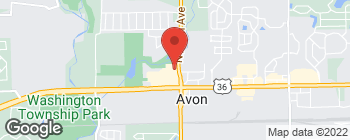 Map of 180 N Avon Ave in Avon