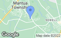 Map of Mantua Township, NJ