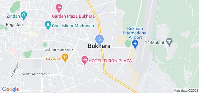 Location of Sabrina on map