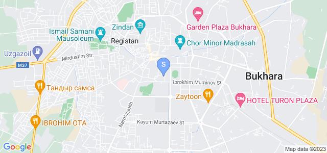 Расположение гостиницы Абу Бакр на карте