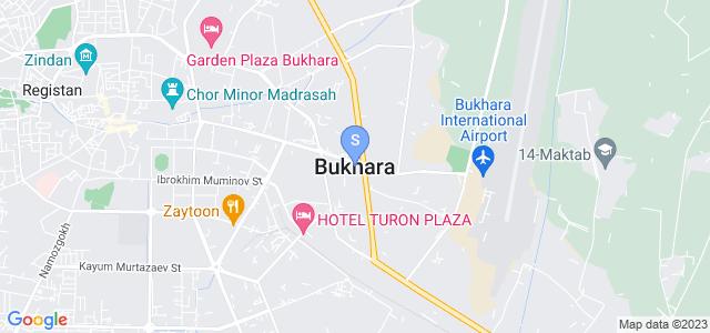 Location of Xoja Ismat Buxoriy on map