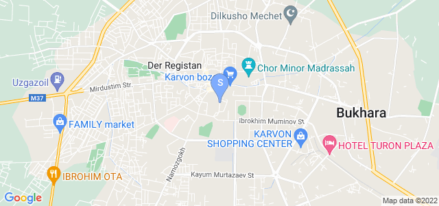 Location of Komil Boutique on map