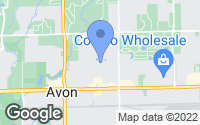Map of Avon, IN