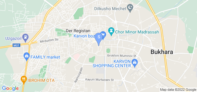 Location of Bukhara House on map