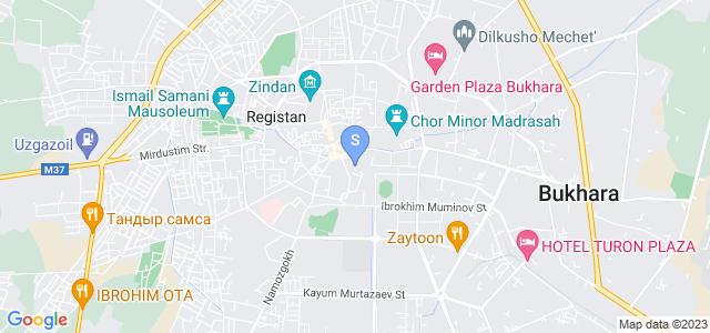 Location of Mubinjon on map