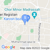 Location of Bibi Khanum on map