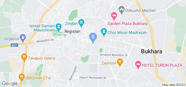 Location of Bibi Khanum on map