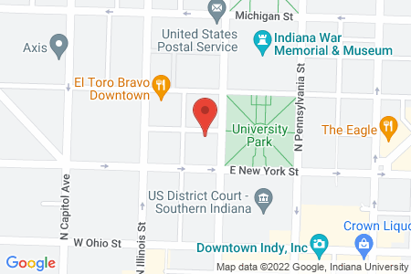 static image of320 North Meridian Street, Suite 617, Indianapolis, Indiana