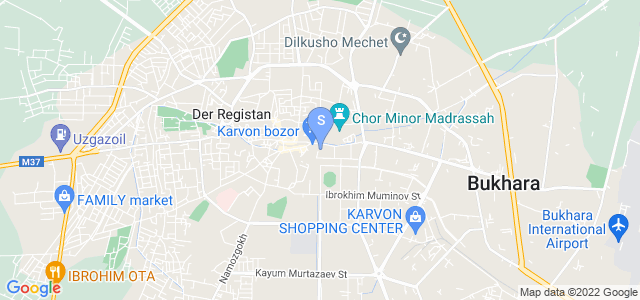 Location of Al Bukhari  And Suzani Boutique on map
