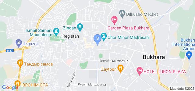 Расположение гостиницы Амелия Бутик на карте
