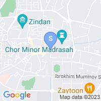 Расположение гостиницы Шохтут на карте