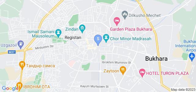 Расположение гостиницы Амулет на карте