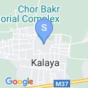 map for Chor Bakr Complex, Bukhara, Uzbekistan