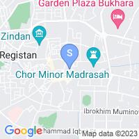 Расположение гостиницы Хурджин на карте