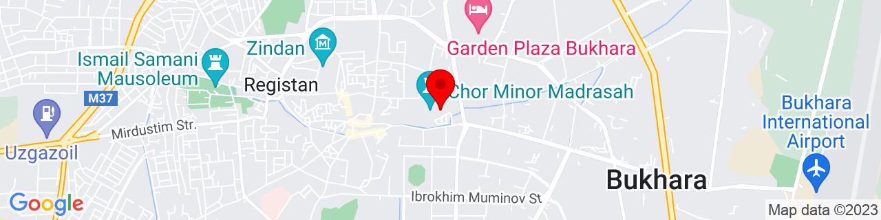 Google Map of 39.77472222222222, 64.42861111111111