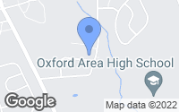 Map of Oxford, PA