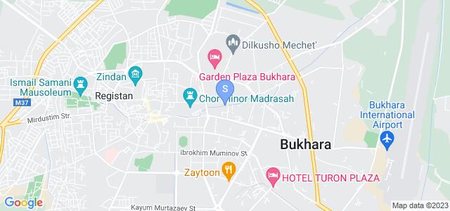 Расположение гостиницы Хан Румс на карте