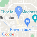 map for Ulugbek Madrasah, Bukhara, Uzbekistan