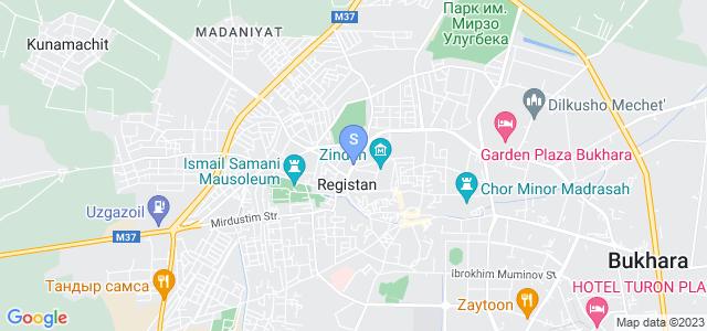 Location of Afrosiyob on map