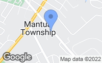 Map of Mantua, NJ