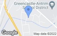 Map of Greencastle, PA