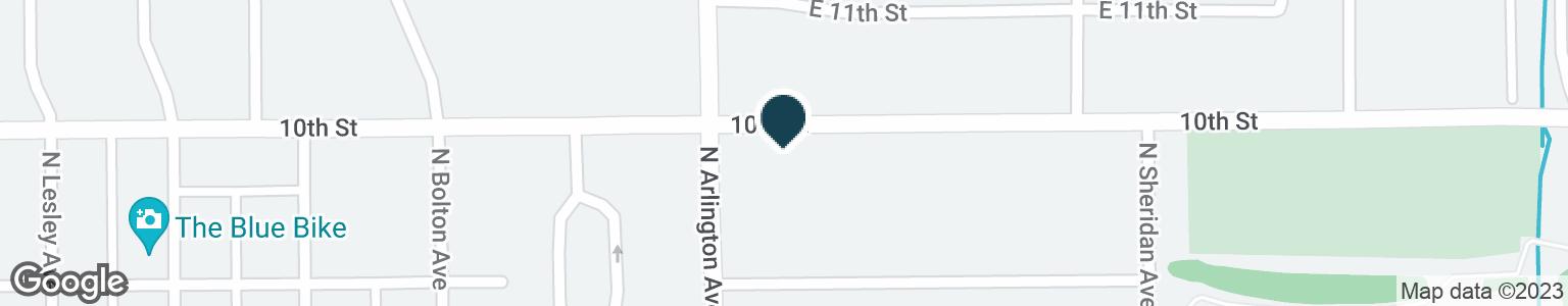 Google Map of985 N ARLINGTON AVE