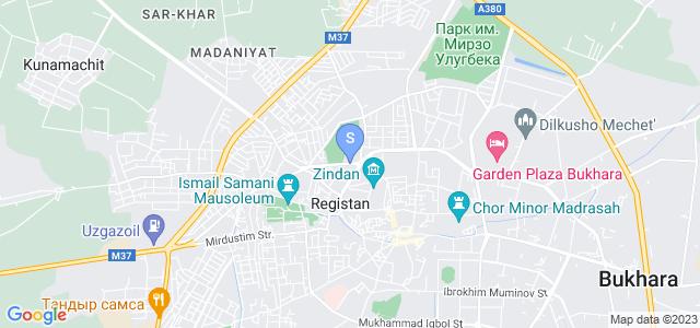 Location of Bonu on map
