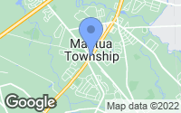 Map of Mantua Township, NJ