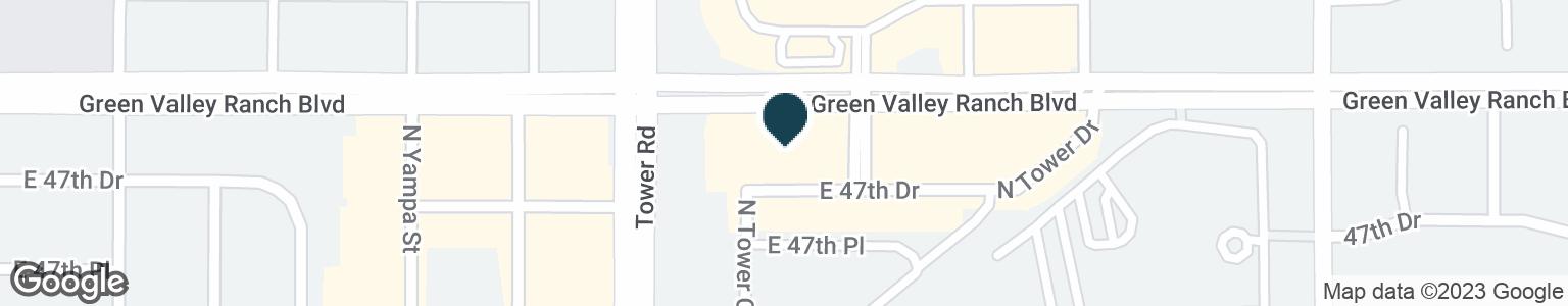 Google Map of18550 GREEN VALLEY RANCH BLVD